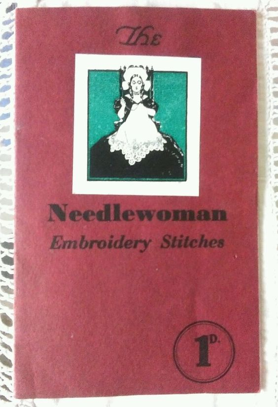 """Vintage embroidery booklet """"The Needlewoman Embroidery Stitches"""" in Crafts, Embroidery, Patterns   eBay"""