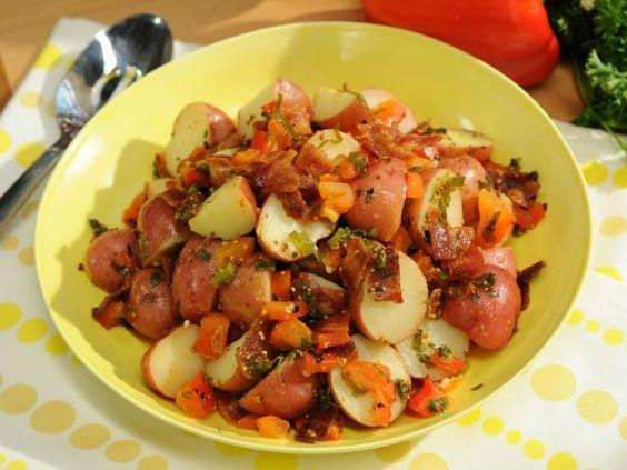 As seen on The Kitchen: Sunny's Warm German Potato Salad
