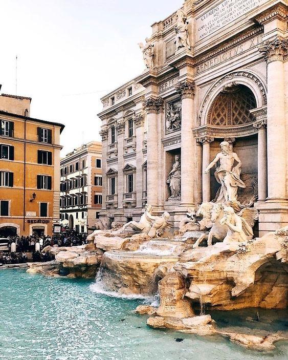 Trevi Fountain, Rome, Italy, Travel, Tourist Attraction, Sightseeing Spots, Superb Views, Landmark