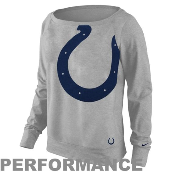 Women's Indianapolis Colts Nike Dri-FIT Epic Wildcard Long Sleeve ...