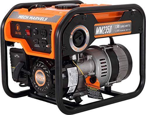 New Mech Marvels 1500 Watt Portable Power Generator Carb Compliant Mm2350 Online Toplikeclothes In 2020 Portable Generator Portable Power Generator Best Portable Generator