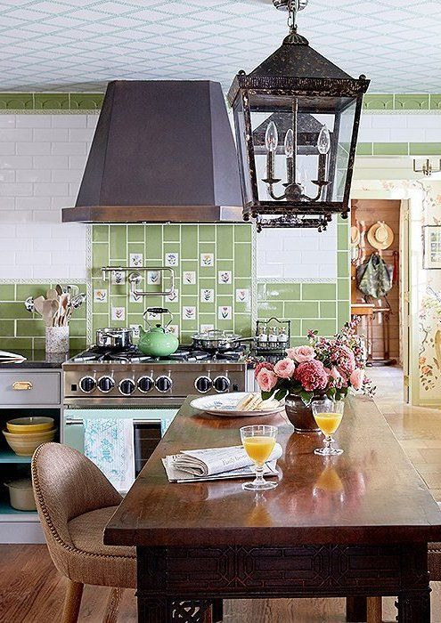 John And Jason Gave The Kitchen A Total Makeover Inspired By The Royal Pavilion In Brighton Eng Country Cottage Decor Interior Design Firms Family Room Design Jason kitchen and dining room