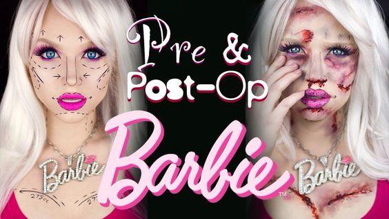 Pre and Post-Op Barbie All Hallow\u0027s Eve Pinterest Barbie - barbie halloween costume ideas