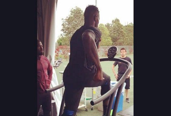 WATCH: Josh Gordon Hits Lightspeed on Self-Powered Treadmill