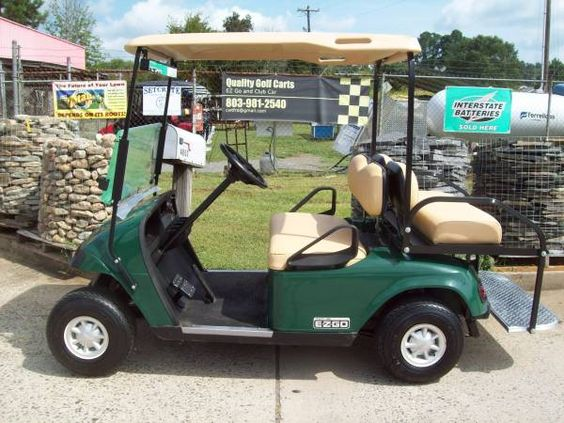 EZ Go golf cart -- Great cart for your budget
