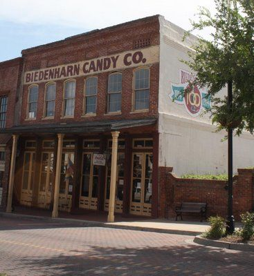 The Biedenhard Candy Co. ~ Washington Street in Downtown Vicksburg, Mississippi...where Coca Cola was first bottled in 1894!