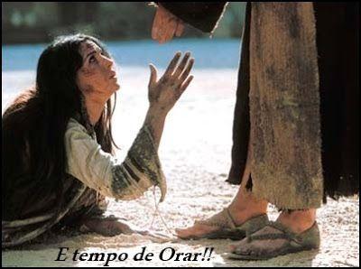 E tempo de ORAR!!: Oração da Semana: Segura minha mão Senhor