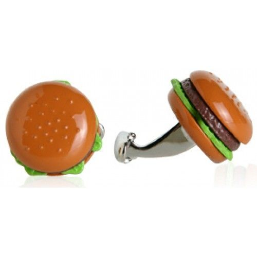 Hamburger Food Cufflinks, Men's