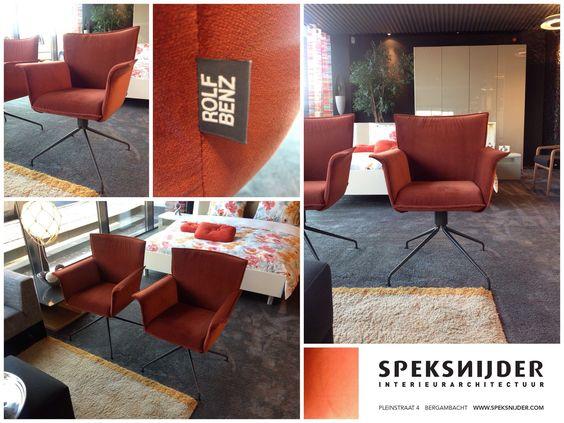 Nieuw bij ons de multifunctionele fauteuil van Rolf Benz. Deze ST630 is zowel in de zitgroep als aan een eetkamertafel te gebruiken. Door de velours stof die wij hebben toegepast krijgt de ST630 een luxe uitstraling. Leverbaar in allerlei stoffen en kleuren leder. Al vanaf € 1333,- in stof. Kom langs in onze showroom voor persoonlijk advies.   #RolfBenz #RB #Fauteuil #Eetkamerstoel #Velours #Stof #Leer #Luxe #Speksnijder #ST630 #Benz #Exclusief #Stoel #Woonkamer #Zit #Chair #Diningchair…