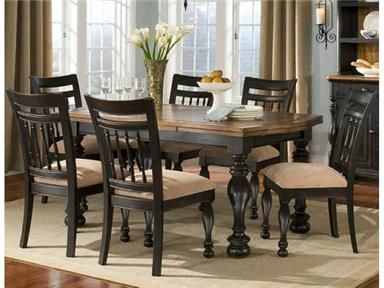 Legacy Classic Furniture Dining Room Banister Rectangular Refectory Table 9340-222 - Discovery Furniture