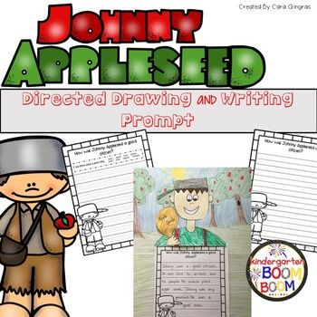 Free: This is a directed drawing and writing prompt of Johnny Appleseed. This product includes:4 Different paper options with the same writing promptStep by step instructions with pictures for the drawingI hope you can use and enjoy this freebie! DOn't forget to leave feedback!:0) Cara