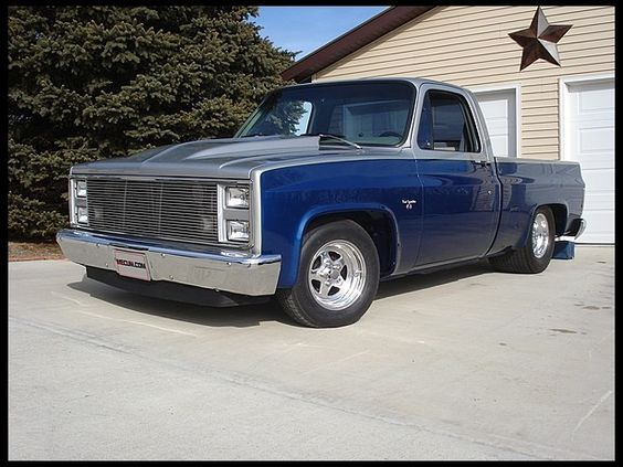 1987 Chevrolet Pickup With Custom Paint And Interior