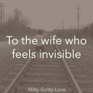 an account of a woman feeling invisible in a relationship Feeling underneath feeling invisible may be  attractive woman,.