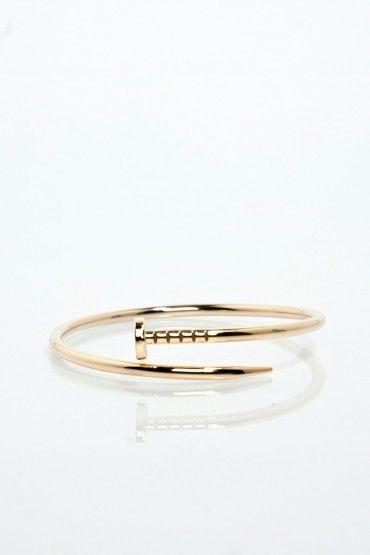 Twisted Nail Bracelet