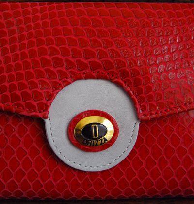 Carteira em couro cobra. Mab Store - www.mabstore.com.br