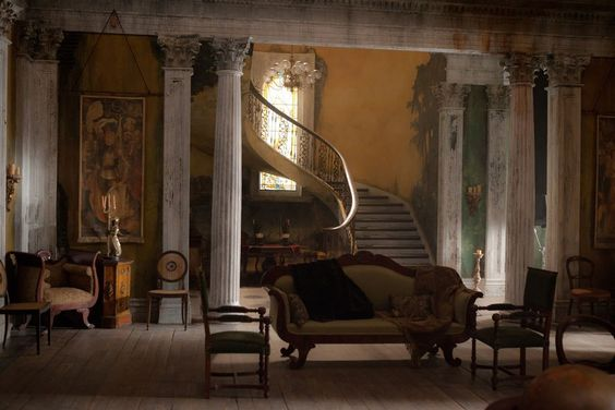 The Sets Of Abraham Lincoln Vampire Hunter Mansions Scenic Wallpaper And Antiques