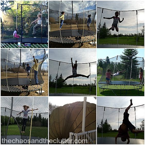 5 Trampoline Games - The Chaos and the Clutter