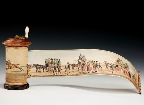 PANORAMA BY HENRY ALKEN - Richard Gardner Antiques Going to Epsom Races. 1819…