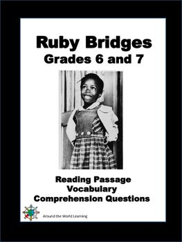 reading passage ruby bridges it is reading and black. Black Bedroom Furniture Sets. Home Design Ideas
