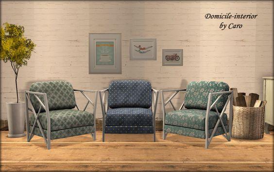 Domicile-interior: Trapping Armchair