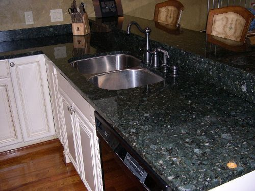 white kitchen cabinets with verde butterfly granite the world s catalog of ideas 29047