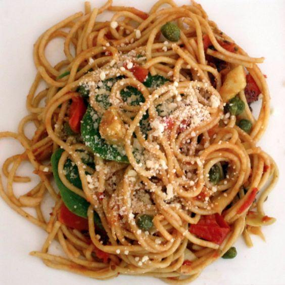 Whole wheat angel hair pasta recipes