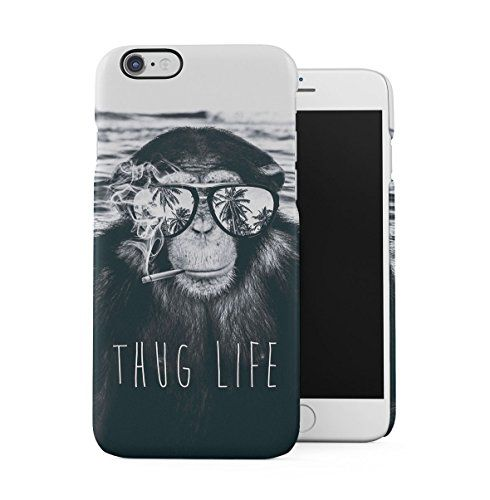 Funny Chill Chimpanzee Thug Life Tropical Plage Palmier Coque ...