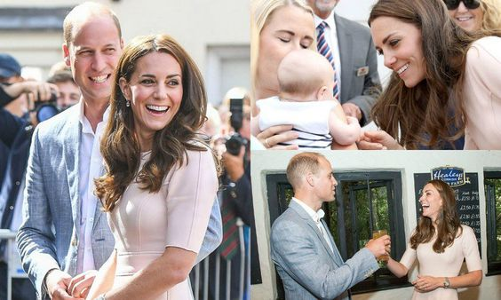 """HELLO! US on Twitter: """"From laughs to babies: the best pics from Prince William & Kate Middleton's day in Cornwall!"""