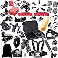 BAXIA TECHNOLOGY 44-in-1 Accessory Kit for GoPro HERO 4/ 3+/ 3/ 2/ 1 l $10 off!! l AC price: $19.99@Amazon. $19.98