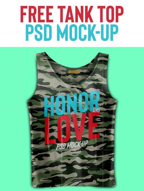 Askılı T-Shirt PSD Mockup