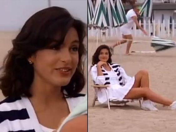 mariska hargitay on baywatch