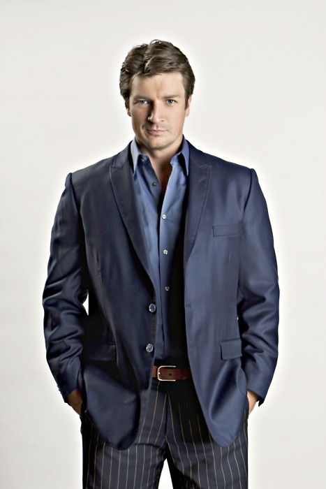 Nathan Fillion from #CastleTV  @α ʠ ʉ ɨ ɭ α