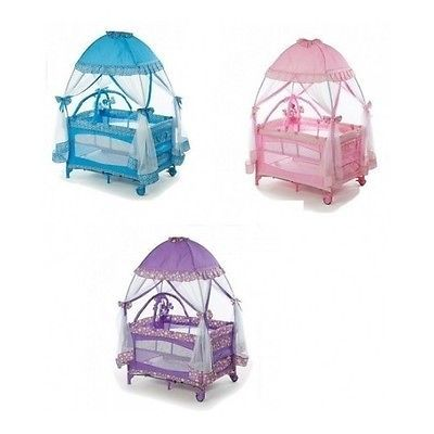 Pack N Play Mosquito Net Cover Portable Baby Playpen Newborn Bassinet Napper