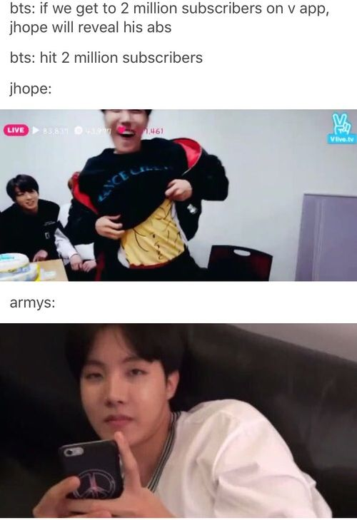 Hahaha this is why Hoseok is amazing hahhahahahha