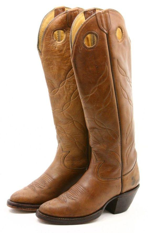 Original 12 Inch Women39s Double H Buckaroo Boots Oldtown Folklore