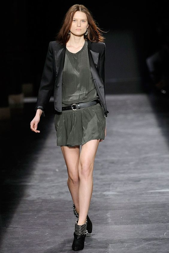 Isabel Marant Fall 2009 Ready-to-Wear Fashion Show - Elena Melnik (SILENT)