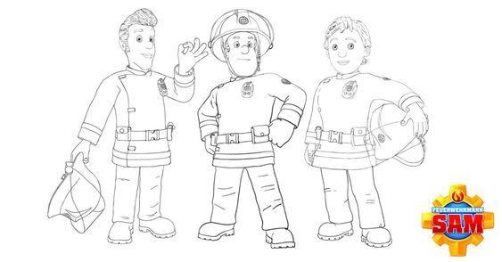 Feuerwehrmann Sam Ausmalbilder Zum Ausdrucken Mifus Family Male Sketch Print Art