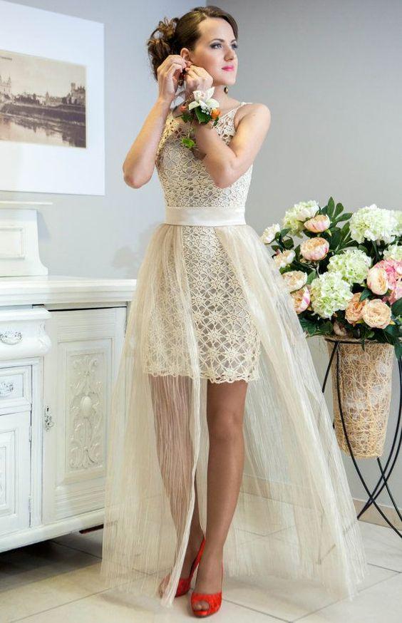 Inspirações: Vestido de Noiva de Crochê: