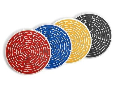 Roll-a-Coasters, Set of 4