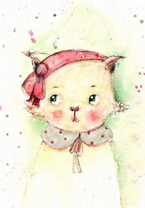 Lulu Cat Print