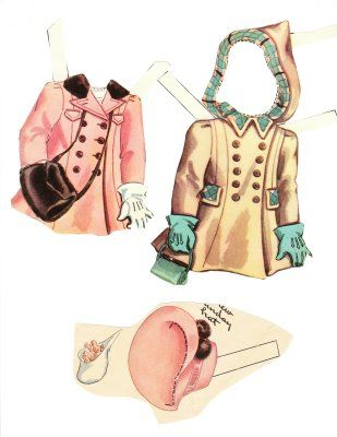 The Paper Collector: Lois paper doll