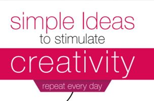 Simple Ideas to Stimulate Creativity: INFOGRAPHIC - GalleyCat