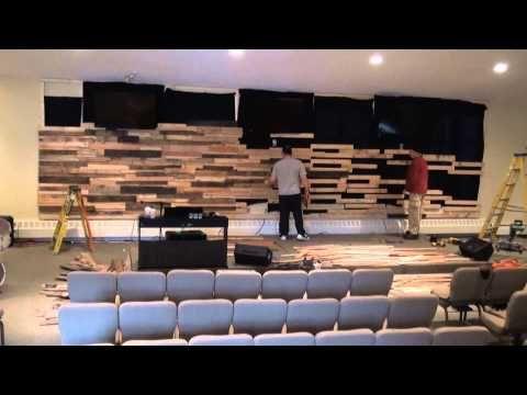 Church Stage Design Ideas Corrugated Boxes Youtube Escenario