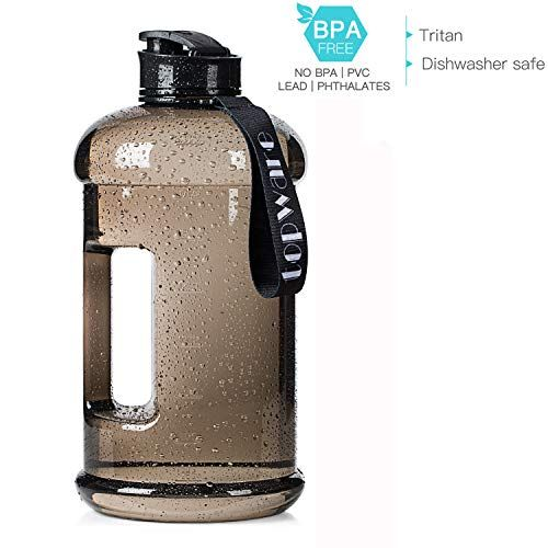 Topware Dishwasher Safe New Material Tritan Plastic Hot Cold Water Jug Container Big Capacity 2 2l 75oz Half Gallon 1 3l 44oz Large Leakproof Bpa Free Water Bot Water Bottle Free Water Jug