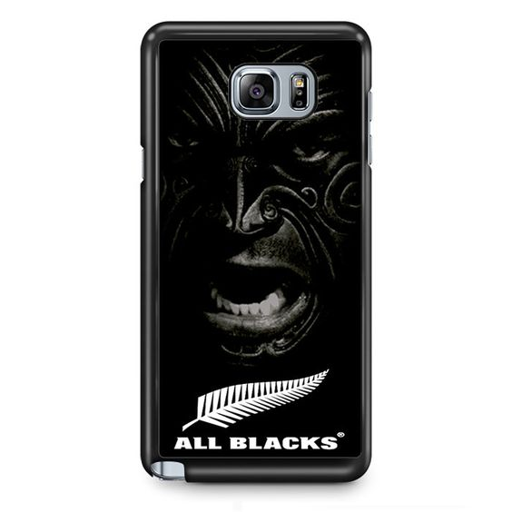 New Zealand All Blacks Haka Face TATUM-7677 Samsung Phonecase Cover Samsung Galaxy Note 2 Note 3 Note 4 Note 5 Note Edge