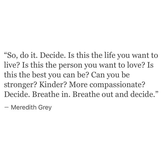 Is this the life you want to live? More