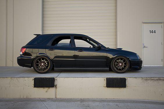 Black 04-05 WRX Wagon