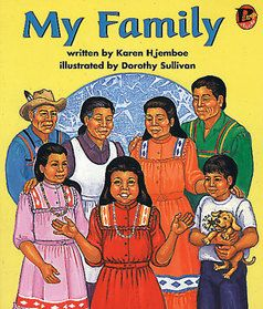 Picture book. My Family by Karen Hjemboe, illustrated by Dorothy Sullivan