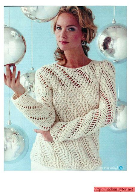 Pullover. I'd love to find a pattern for this!