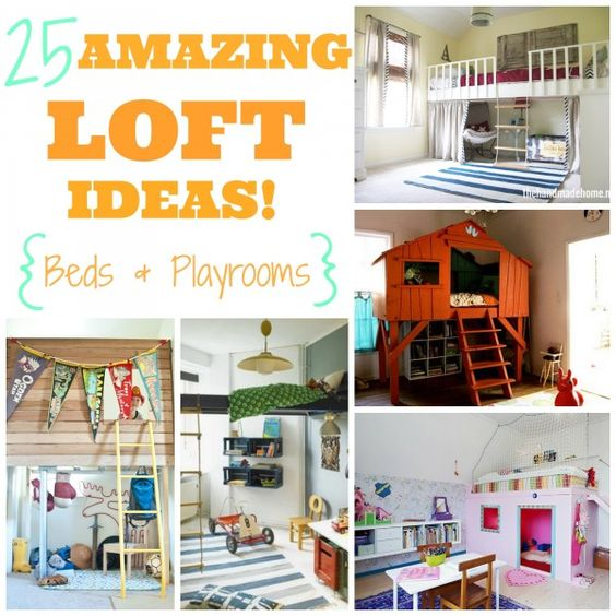 Do It Yourself Home Design: 25 Amazing Loft Ideas - Beds And Playrooms